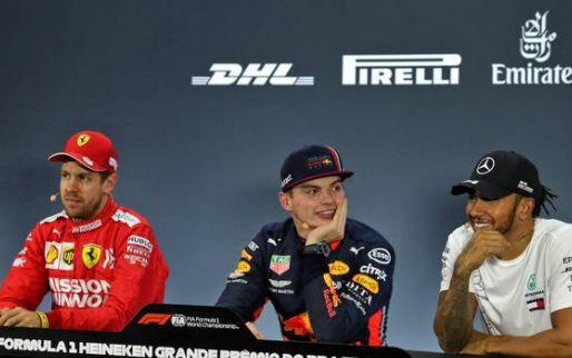 """Verstappen tegen pers na kwalificatie: """"Tweede pole position? Dit is mijn derde"""