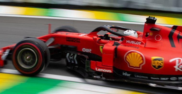 Vettel is blij met P2: Hopelijk kunnen we dit momentum vasthouden in de race