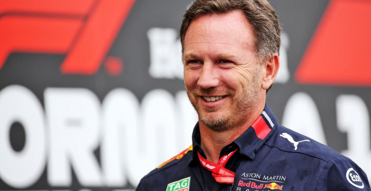 Horner is lyrisch over Verstappen en Honda na pole position