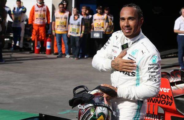 """Hamilton anticipeert: """"Kijken hoe race is met hogere baantemperaturen"""""""