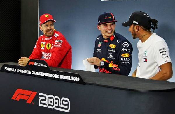 Vettel jokingly hits back at Verstappen: Red Bull pace a little bit suspicious!
