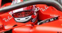 """Afbeelding: Leclerc is teleurgesteld in zichzelf: """"Pole position lag binnen bereik"""""""