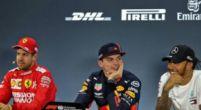 """Afbeelding: Verstappen tegen pers na kwalificatie: """"Tweede pole position? Dit is mijn derde"""""""