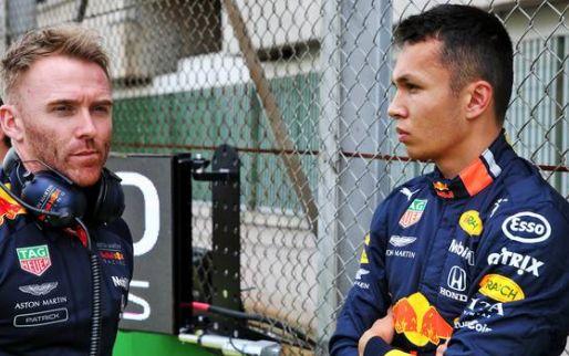"""Afbeelding: Albon baalt dat Hamilton niet geduldiger was: """"Lewis had mij toch wel ingehaald"""""""