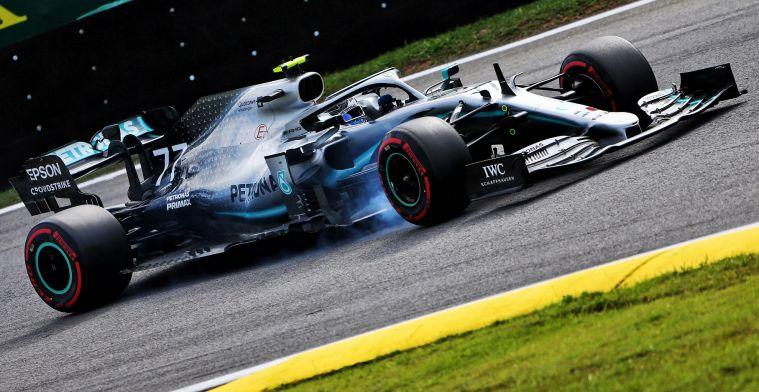 Bottas wijst achilleshiel van Mercedes aan: Daar worstelen wij veel meer mee
