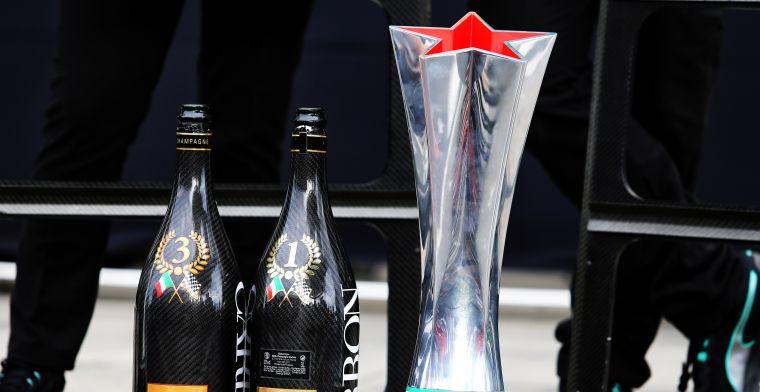 Deze trofee zal Vettel toch wél graag aan zijn collectie willen toevoegen!
