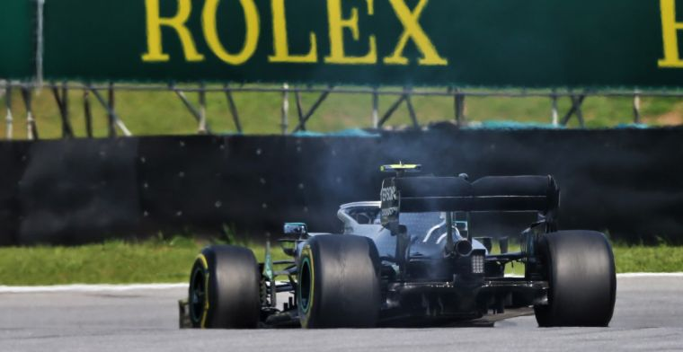 'Hobbeltje' veroorzaakte safety car na uitvallen Bottas