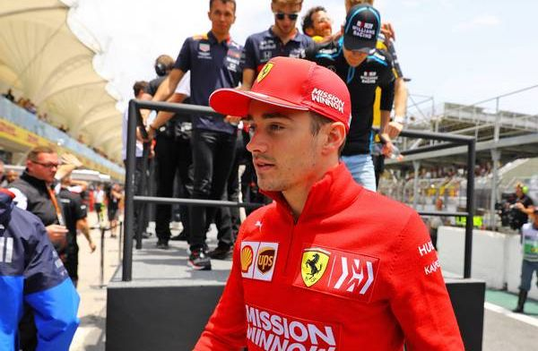 Charles Leclerc apologies to Ferrari F1 after crash with teammate