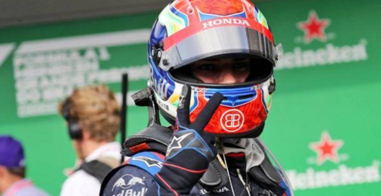 Rosberg congratulates Gasly on great job