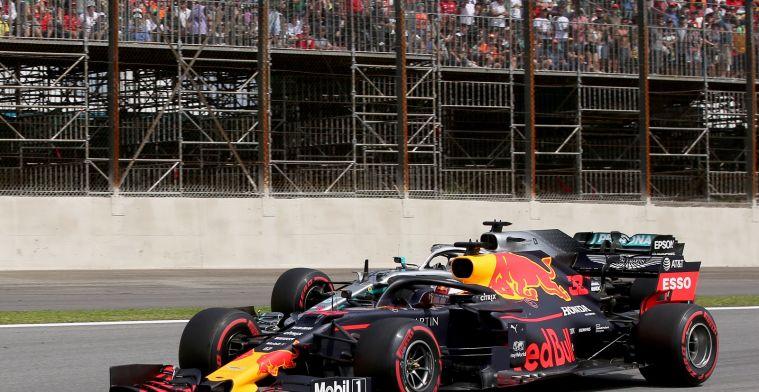 Red Bull-Honda van Verstappen was in Brazilië veruit het best dit seizoen