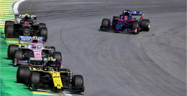 De strafpunten in de Formule 1: De huidige stand van zaken