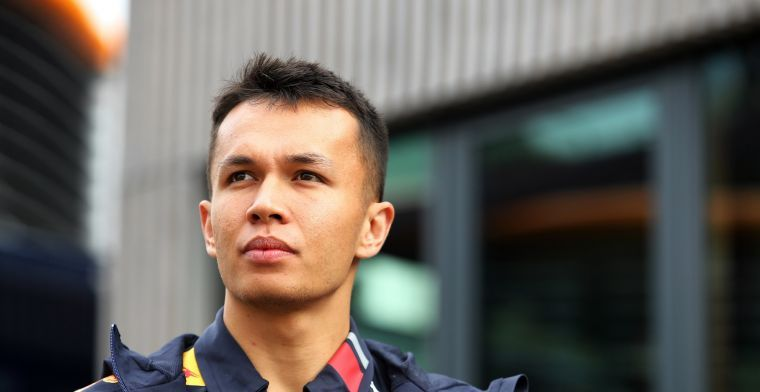 Alex Albon still seems unable to make any inroads into the 'A' race