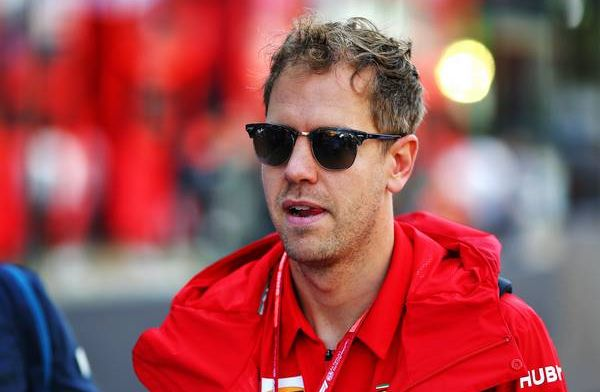 Sebastian Vettel insists he is not to blame: I was going straight