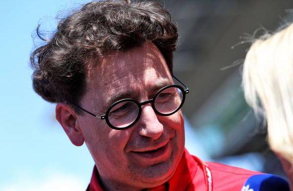 Mattia Binotto says Ferrari get criticized for team orders and letting them race