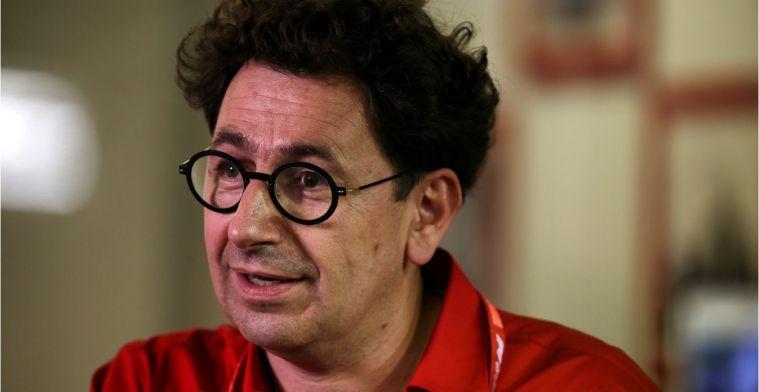 Binotto over clash Vettel en Leclerc: Gelukkig gebeurde het dit seizoen