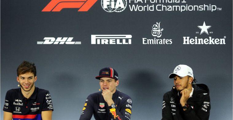 De langste vragen bij een F1-persconferentie ooit...