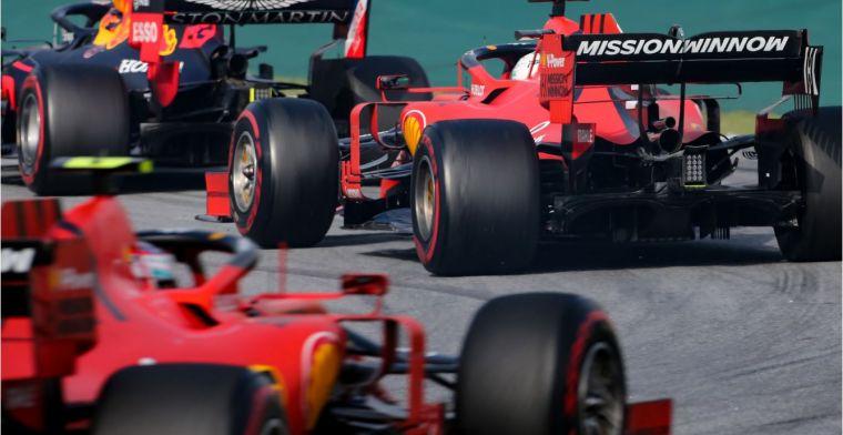 Coulthard: Vettel is niet zo goed in wiel aan wiel racen