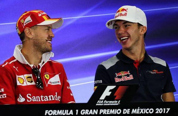 Sebastian Vettel thinks Pierre Gasly has drove brilliantly since Red Bull drop