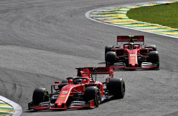 ''Vettel denkt zoals altijd weer dat hij alleen op de baan is''