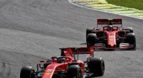 Afbeelding: ''Vettel denk zoals altijd weer dat hij alleen op de baan is''