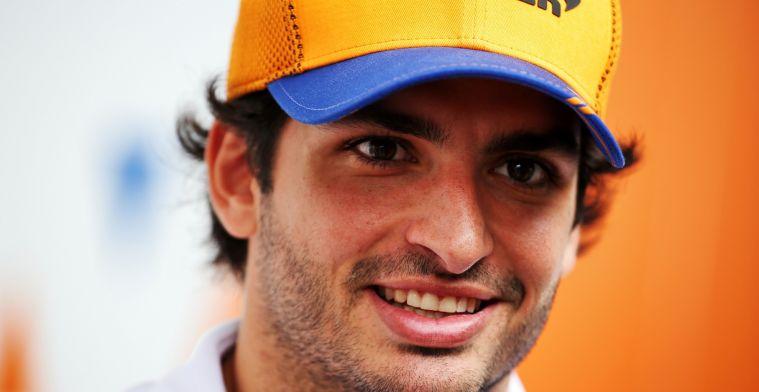 Sainz hoopt op zelfde voordeel als Hamilton en Verstappen: Zij zijn het bewijs