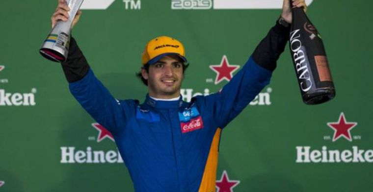 Carlos Sainz hoping he and McLaren can get faster together