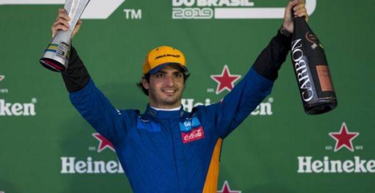 Sainz has only known progress since arriving at McLaren