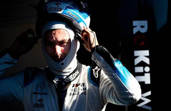Nicholas Latifi's first interview as a Williams driver!