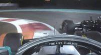Afbeelding: Bottas en Grosjean tikken elkaar van de baan in VT2!