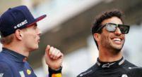 Afbeelding: Verstappen mist Ricciardo: ''We doen het nu alleen met mijn setup''