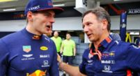 "Image: Christian Horner compliments Max Verstappen for ""very strong race"" in Abu Dhabi"