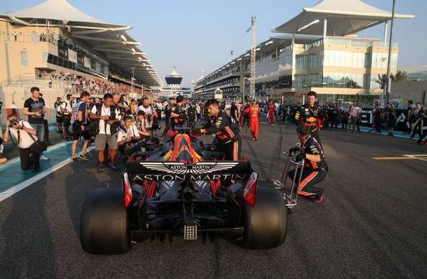 Red Bull (again!) win fastest F1 pit stop award in Abu Dhabi