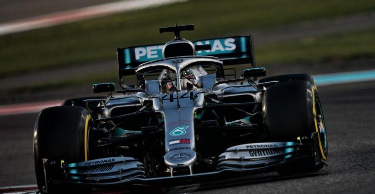 Hamilton vestigt nieuwe records met 'Grand Slam' in Abu Dhabi