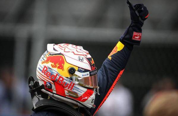 Verstappen and Ricciardo exchange helmets in Abu Dhabi