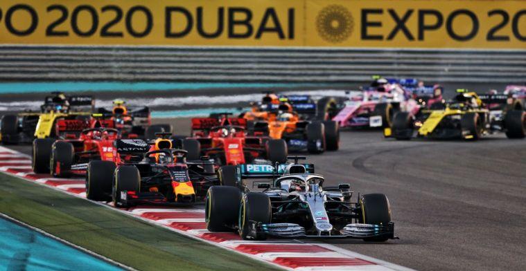 Met deze cijfers sluiten de teams in Abu Dhabi het seizoen af