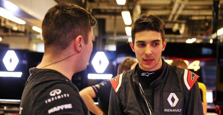 Ocon spreekt van 'zeer spannende' eerste dag met Renault: Goede eerste indruk