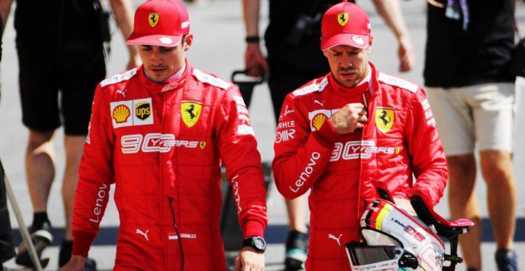 Villeneuve over houding Leclerc: Deze hele situatie heeft Ferrari beschadigd