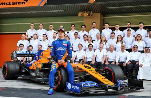 Lando Norris experimented different driving styles in Abu Dhabi post-season test