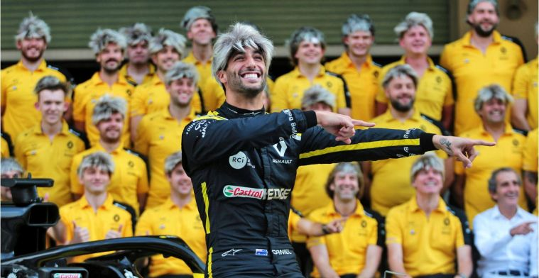 Ricciardo en Hülkenberg proberen elkaars leugens te spotten