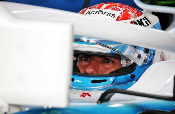 Latifi pleased with productive first day as a Williams driver!