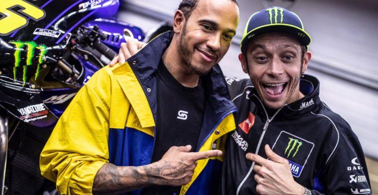 Voorbereidingen voor stoeltjeswissel tussen Hamilton en Rossi in volle gang