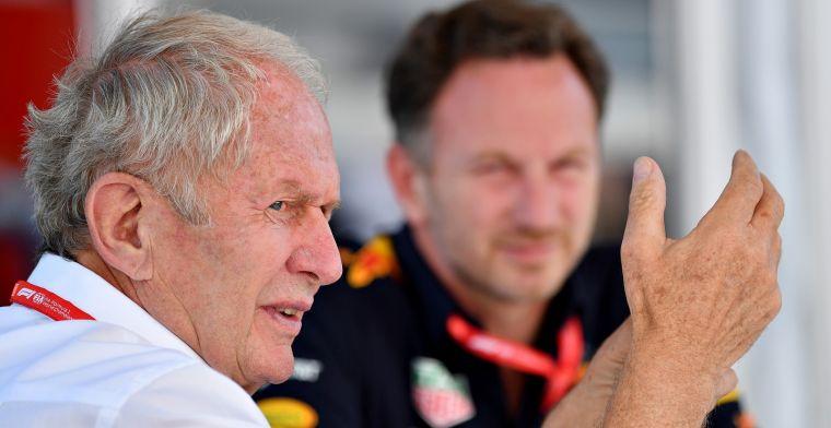 Marko dreigt met klacht over Ferrari: Als we weer datzelfde idee krijgen...