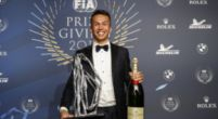 Afbeelding: Albon wint 'Rookie of the Year'
