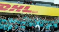 Image: Hamilton and Bottas pay tribute to Petronas