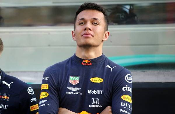 Alex Albon wins Rookie of the year at FIA prize gala