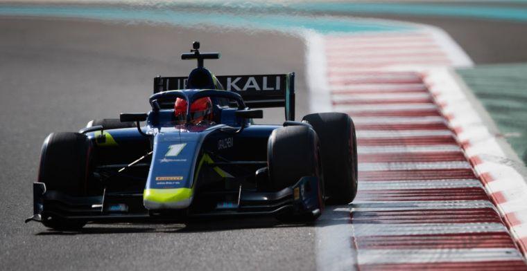 Schumacher snel in regenachtig Abu Dhabi; Delétraz blijft snelste van de week