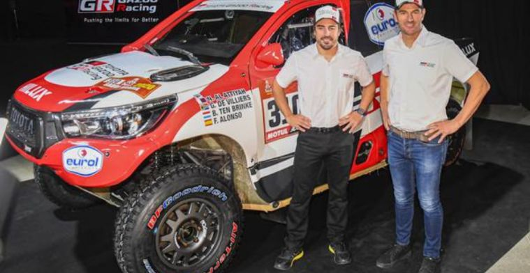Alonso: I don't feel ready to win Dakar Rally 2020