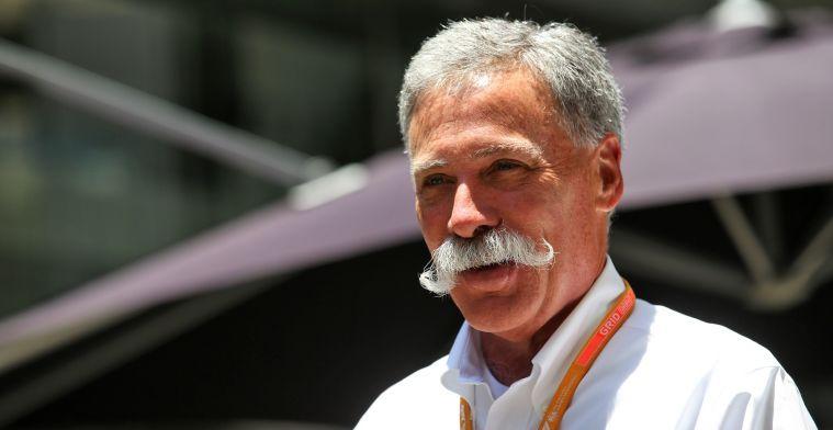 Carey geeft toe: Sponsoren vinden voor Formule 1 lastiger dan verwacht