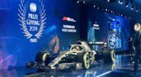 Afbeelding: Spectaculaire entree van Mercedes op FIA-gala
