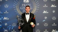 Image: Max Verstappen wins 'action of the year' award at FIA's prize gala